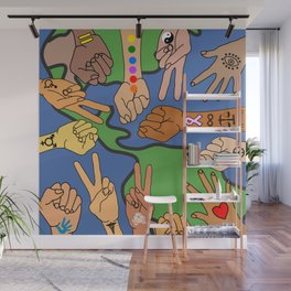 Save the Planet Earth Day Wall Mural