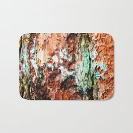 Colored Wood One Bath Mat