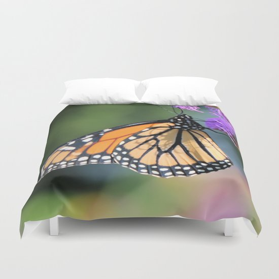 Monarch lunch counter Duvet Cover