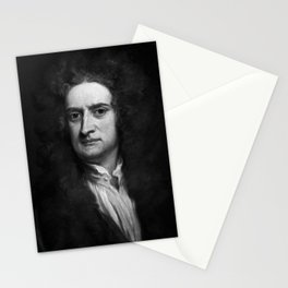 Sir Isaac Newton, 1702 Stationery Cards
