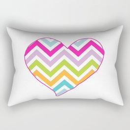 Crazy heart Rectangular Pillow