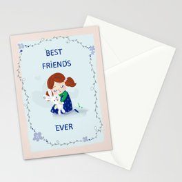Best Friends Ever Stationery Cards