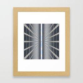 From Below Framed Art Print