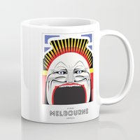 melbourne Mugs featuring Melbourne by George Williams