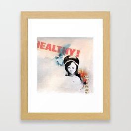 Palengke boy Framed Art Print
