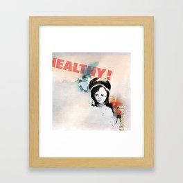 Palengke boy Framed Art Print