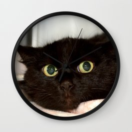 Black Cat 2 Wall Clock