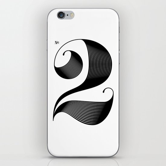 No. 2 iPhone & iPod Skin