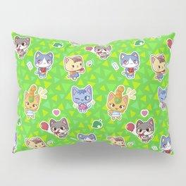 Animal Crossing New Leaf Cats Pillow Sham