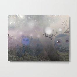 magic mist ghosts Metal Print