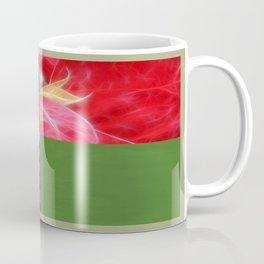 Mottled Red Poinsettia 2 Blank Q5F0 Coffee Mug