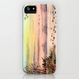 Duck Hunting With Granddad iPhone Case