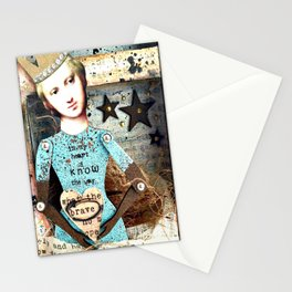 In my Heart I know the Way Stationery Cards