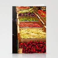 vegetables Stationery Cards featuring Vegetables by Toni-Ann Langella