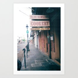 Nawlins Cookery Art Print