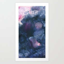 Pink Ghosts Art Print