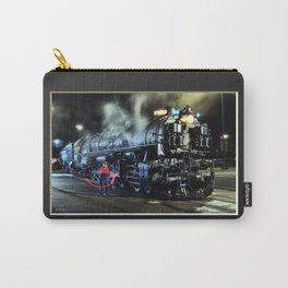 Signaling With Lantern. Lantern Up. UP 9000. Union Pacific. Steam Train Locomotive. © J. Montague. Carry-All Pouch