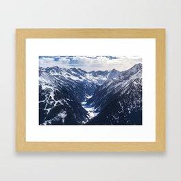 Zillertal - Penken Framed Art Print