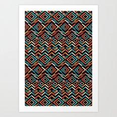 Geomative 2nd ver. Art Print