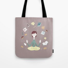 Yoga time Tote Bag