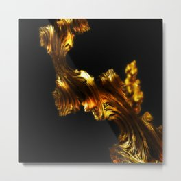 Like Gold, Not Gold Metal Print