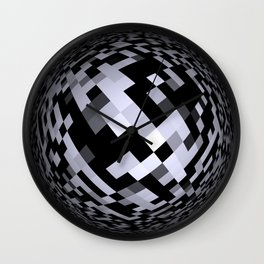 black-and-white -05- Wall Clock