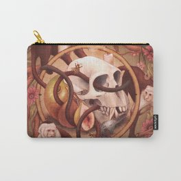 Capuchin Vanitas Carry-All Pouch