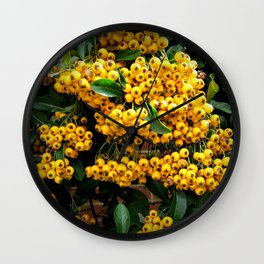 Firethorn Wall Clock