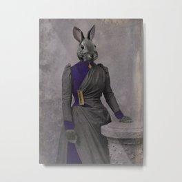 Lady Hare Metal Print