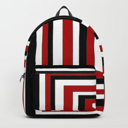le carré rouge Backpack
