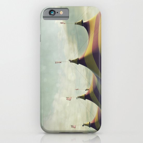 Red and Yellow Striped Six Horned Beast Rising iPhone & iPod Case