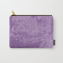 Phoenix map lilac Carry-All Pouch