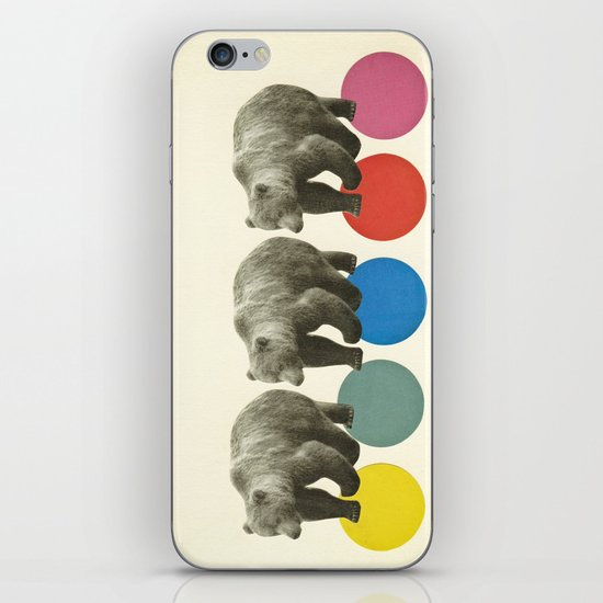 Wandering Bears iPhone & iPod Skin