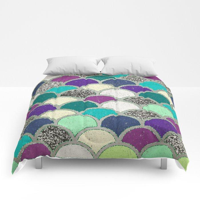 Mermaid Scales Comforters