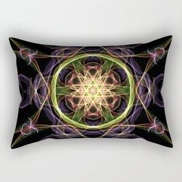 The Atom Star Rectangular Pillow
