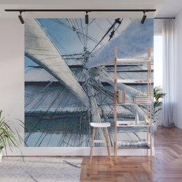 Nautical Sailing Adventure Wall Mural