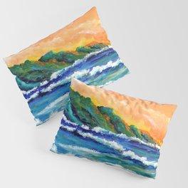 Romantic Kauai Sunset Pillow Sham