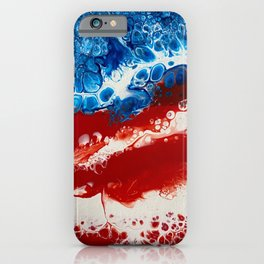 Patriotic Acrylic iPhone Case