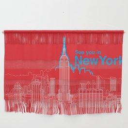See you in New York Wall Hanging