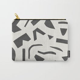Cut Out - Black Carry-All Pouch