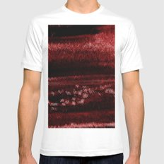 Anxiety Monitor Mens Fitted Tee SMALL White