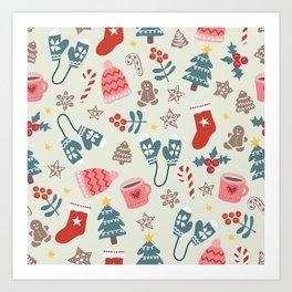 Hygge Christmas Time Art Print