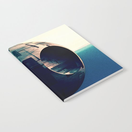 Sci Fi Space Station Notebook
