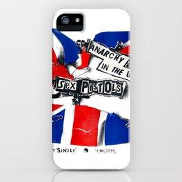 Punk - Union Jack iPhone Case