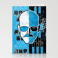 walter white Stationery Cards featuring Walter White by Micah Lanier