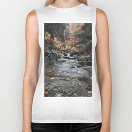Autumn Creek - Landscape and Nature Photography Biker Tank