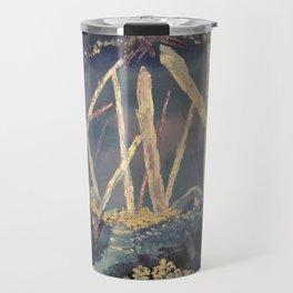 The Healing Crystal cave Travel Mug