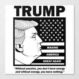 TRUMP Making America Great Again Canvas Print