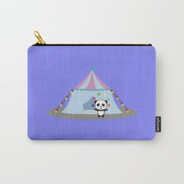 Panda in Circus juggling Carry-All Pouch