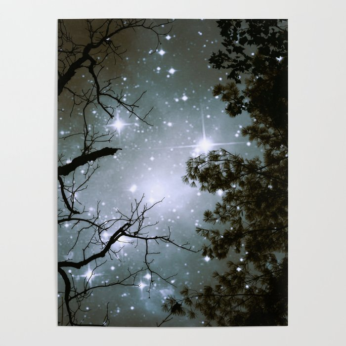 Starry Night Sky 2 Poster by mariannamills
